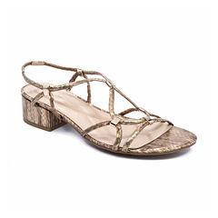 Andrew Geller Kernie Womens Wedge Sandals