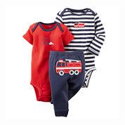 Carter's® Bodysuits and Pants Set - Baby Boys newborn-24m