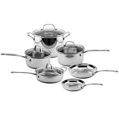 BergHOFF® EarthChef 10-pc. Stainless Steel Copper Clad Cookware Set