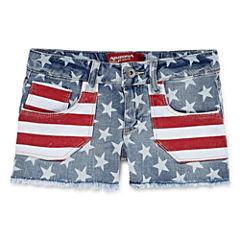 Arizona Woven Shortie Shorts - Big Kid Girls