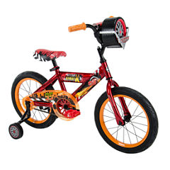 Huffy Disney Cars 16In Bike with Race-Ready Tire Case