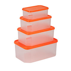 Honey-Can-Do® 4-pc. Food Storage Container Set