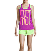 Xersion™ Removable Cup Bra or Graphic Tank Top or Mesh Shorts