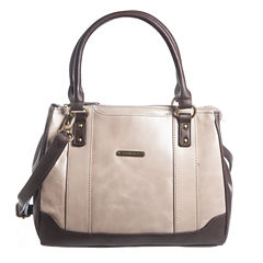 Stone And Co Megan Vintage Leather Satchel