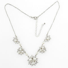 Vieste Rosa Womens Brass Collar Necklace