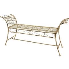 Oriental Furniture Rustic Garden Bench