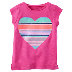 Carter's Graphic T-Shirt-Toddler Girls