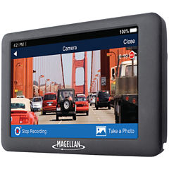 Magellan RM6630SGLUC RoadMate 6630T-LM 5IN GPS HDNavigator with Dash Cam & Free Lifetime Maps & Traffic Updates