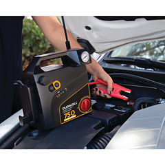 Duracell DRJS20C Jump Starter with Air Compressor(750 Peak Amps; 8 Cylinders)