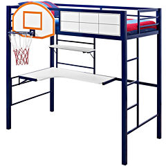 Basketball Twin Loft Bed
