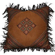 Croscill Classics® Payson Fringed Square Decorative Pillow
