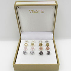 Vieste Rosa Womens 4-pc. Jewelry Set