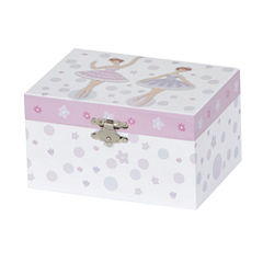 Mele & Co. Girls Musical Ballerina Jewelry Box