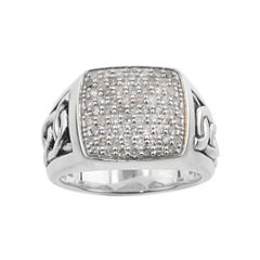 Mens 1 CT. T.W. Diamond Ring