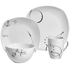 Tabletops Unlimited® Pescara 16-pc. Porcelain Dinnerware Set
