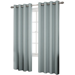 Eclipse® Ridley Room-Darkening Grommet-Top Curtain Panel