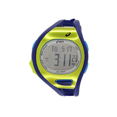 Asics Blue/Green Ar07 Runner Unisex Multicolor Strap Watch-Cqar0704y