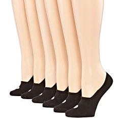 Xersion 6 Pair Liner Socks - Extended