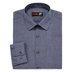 J.Ferrar Easy Care Stretch Long Sleeve Dress Shirt