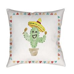 Decor 140 Saguaro Square Throw Pillow