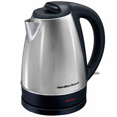 Hamilton Beach 7-Cup Cordless Stainless Steel Electric Kettle