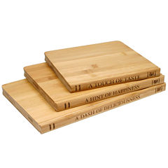 Sabatier® Library 3-pc. Bamboo Cutting Board Set