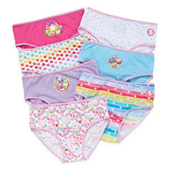Shopkins 7 Pair Brief Panty Girls