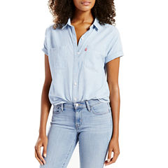 Levi's® Short Sleeve Button-Front Shirt