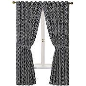 Waverly® Lovely Lattice Rod-Pocket Curtain Panel with Tieback