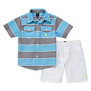 U.S. Polo Assn.® 2-pc. Shirt and Shorts Set - Toddler Boys 2t-5t