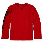 Xersion™ Long-Sleeve Waffle-Weave Top - Boys 8-20