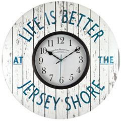 FirsTime® Jersey Shore Wall Clock