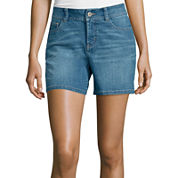 St. John's Bay® Denim Shorts
