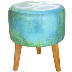 Oriental Furniture Om Footstool