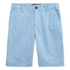 Arizona Chino Shorts Boys 8-20 Husky