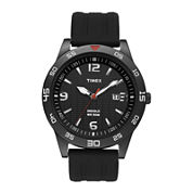 Timex® Mens Resin Strap Sport Watch