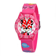 Disney Minnie Mouse Easy-Read Plastic Strap Watch