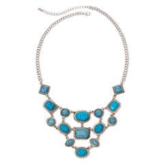 Arizona Blue Stone Bib Necklace