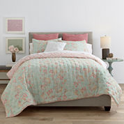 JCPenney Home™ Cotton Classics Jardin Reversible Quilt & Accessories