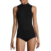 Decree® Sleeveless Mockneck Bodysuit