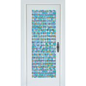 Brewster Peacock Door Premium Film