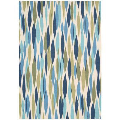 Waverly® Bits u0026 Pieces Indoor/Outdoor Rectangular Rug