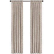 Queen Street® Antonia 2-Pack Jacquard Curtain Panels