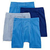 Hanes® Ultimate 4-pk. Boxer Briefs - Boys 6-20