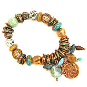 Aris by Treska Stretch Dangle Bracelet