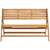 Thelma Outdoor Folding Bench