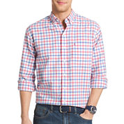 IZOD® Long-Sleeve Oxford Button-Front Shirt