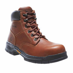 Wolverine Womens Slip Resistant Work Boots Wide