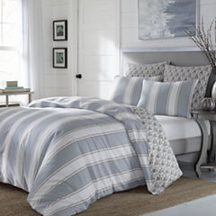 Stone Cottage Calista 3-pc. Stripes Duvet Cover Set