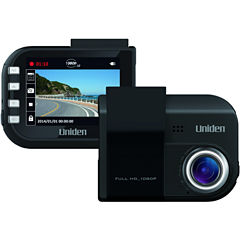 Uniden DC4GT DC4GT Full HD Dash Cam with GPS Geotagging; Lane-Departure & Red Light/Speed-Camera Warnings